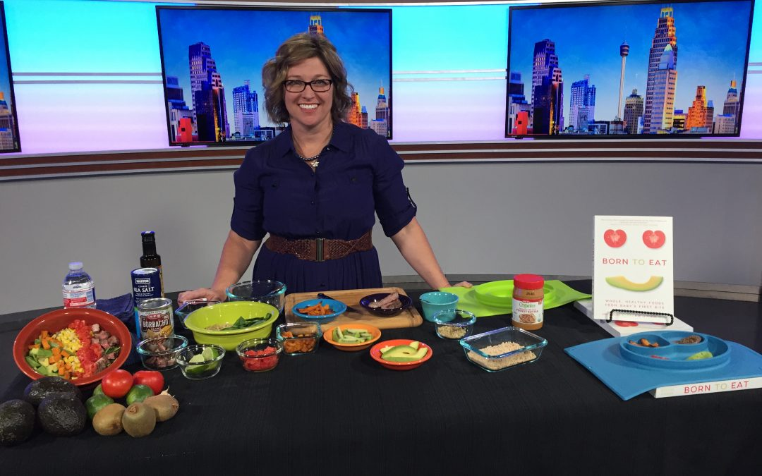 Wendy Jo Talks Baby-led Weaning & Born to Eat on Great Day San Antonio